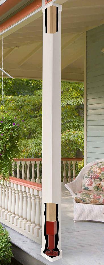porch support columns